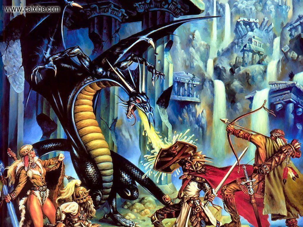 Dragonlance Wallpapers 1024x768