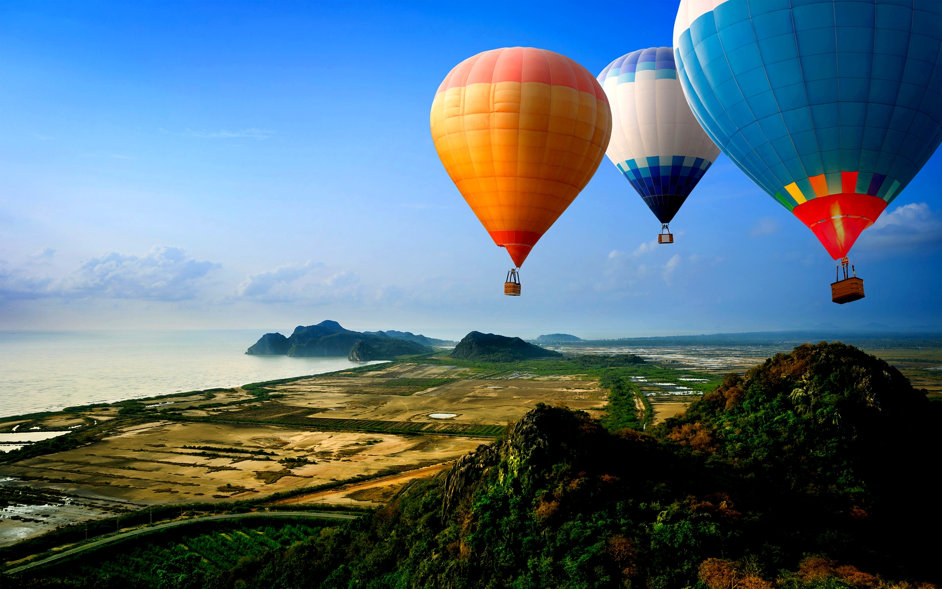 Hd Hot Air Balloon Wallpaper Wallpapersafari