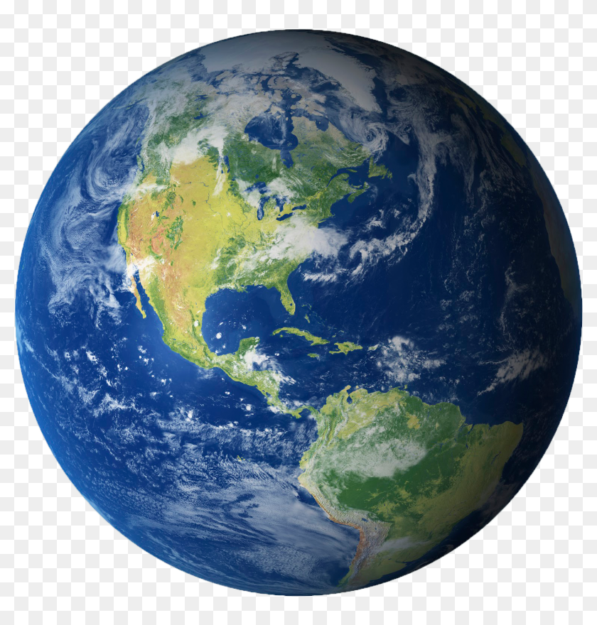 Earth On White Background HD Png Download   800x8006724384 840x880