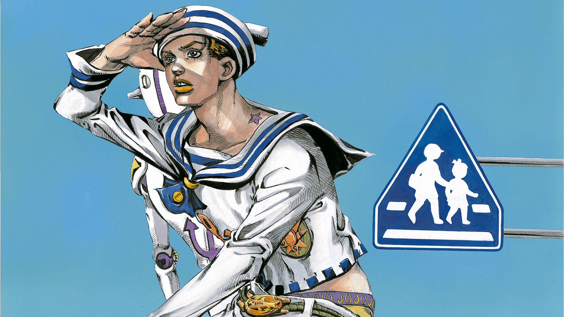 JoJos Bizarre Adventure JoJolion   Josuke With Soft Wet HD 1920x1080