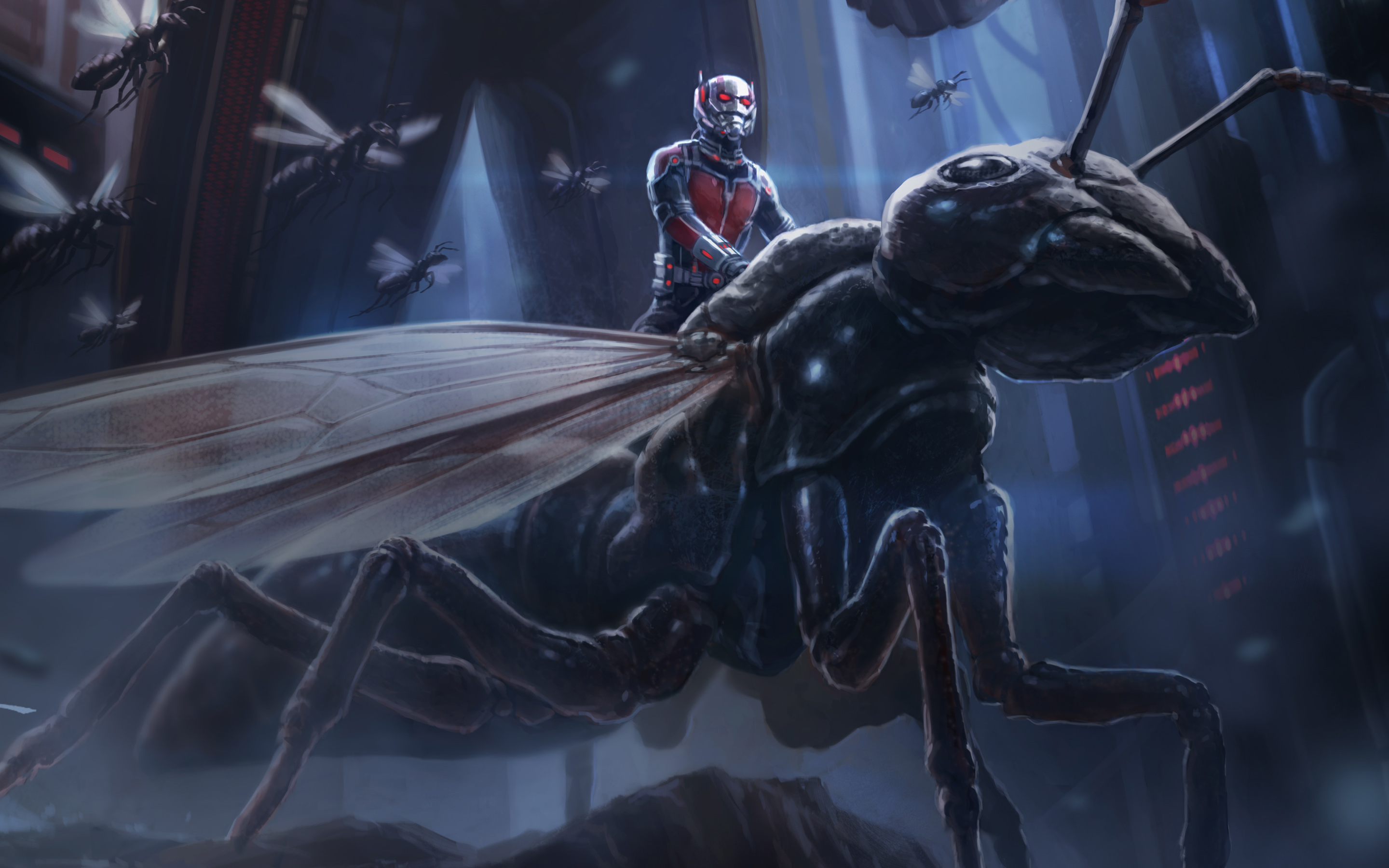Ant Man Artwork Wallpapers HD Wallpapers 2880x1800