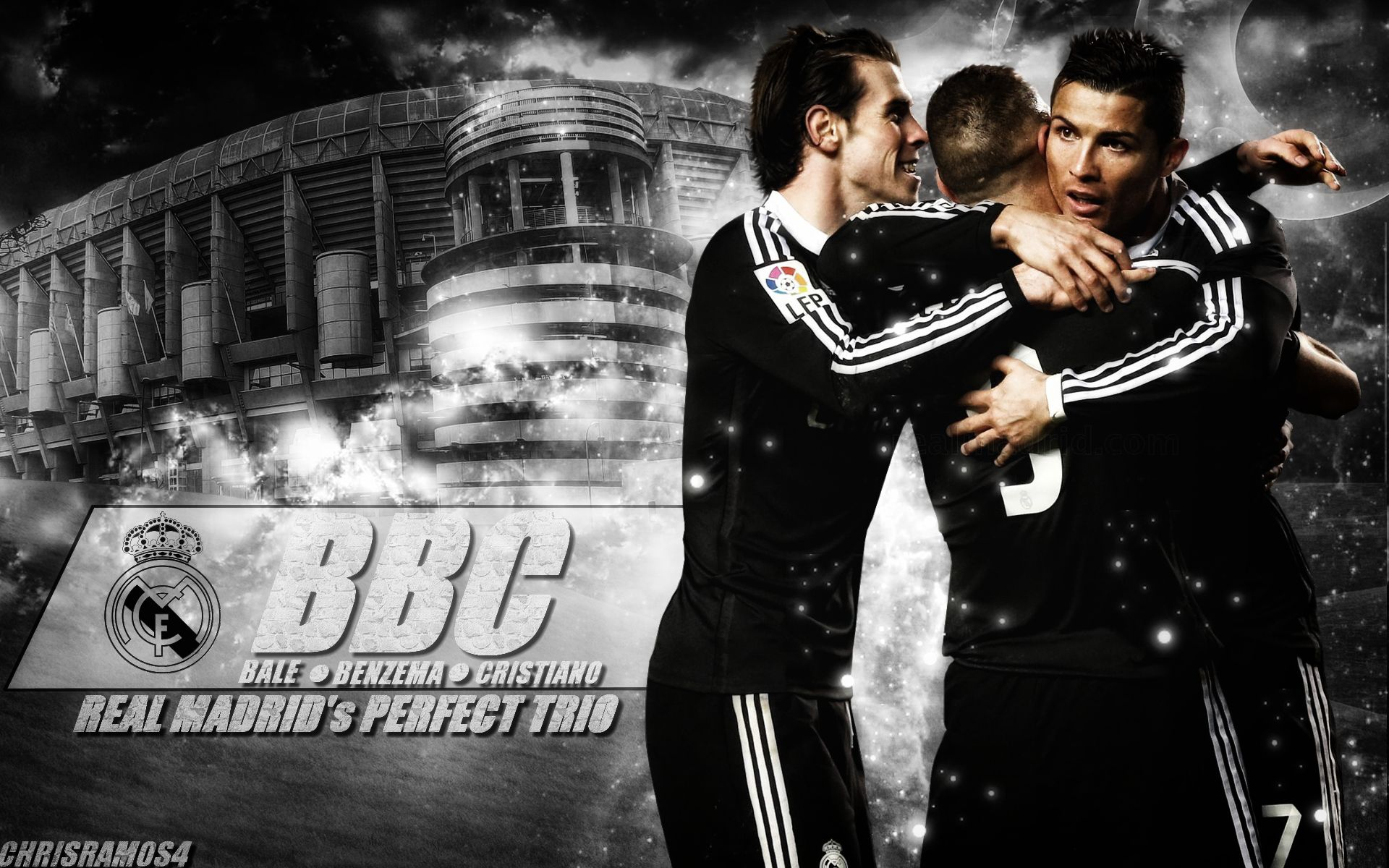 Bale  Benzema Cristiano BBC 2015 Wallpaper by ChrisRamos4GFX on 1920x1200