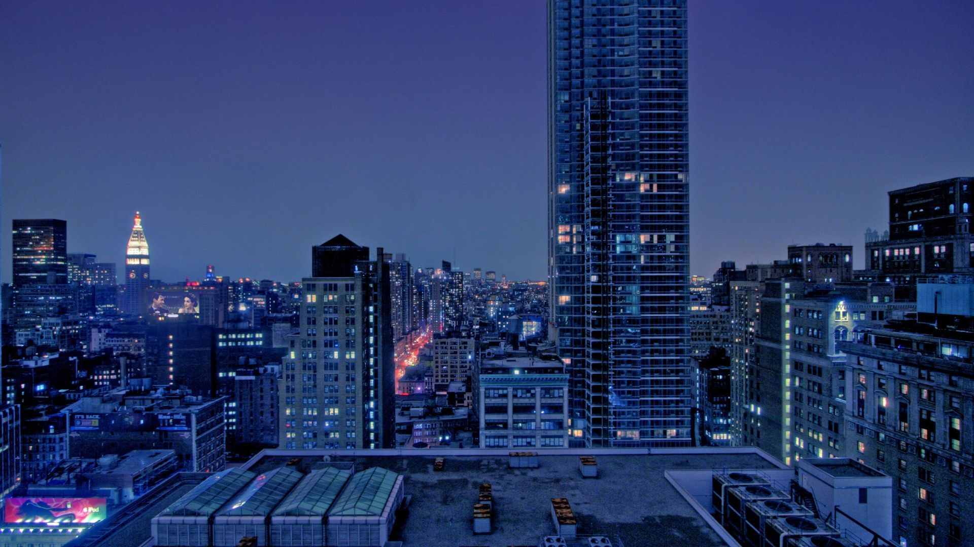 manhattan buildings wallpaper island papers background 1920x1080