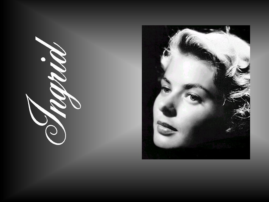 Ingrid Bergman   Ingrid Bergman Wallpaper 3833032 1024x768
