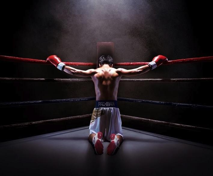 Boxing desktop background