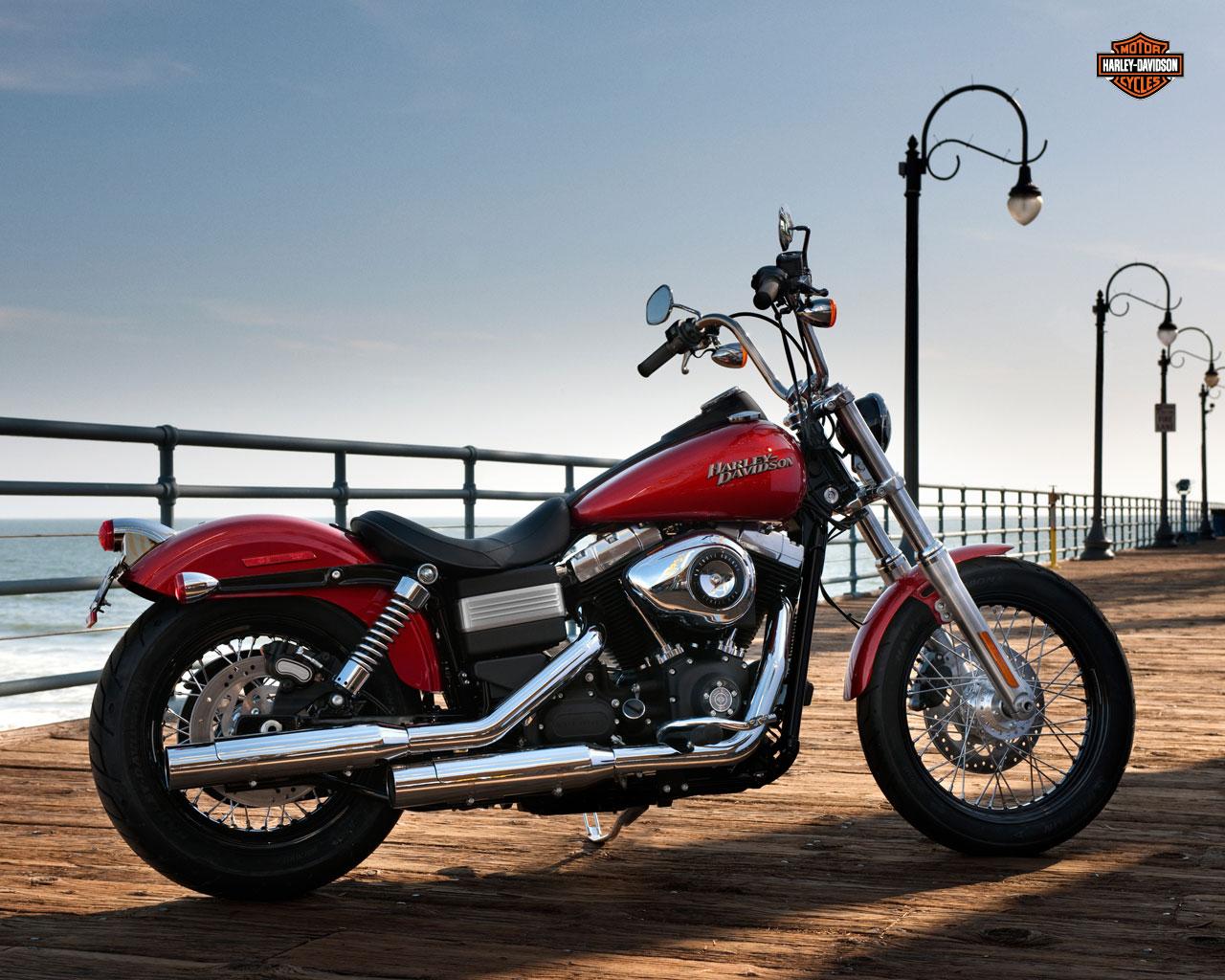 Harley Davidson Street Bob Wallpaper My Car Gear 1280x1024