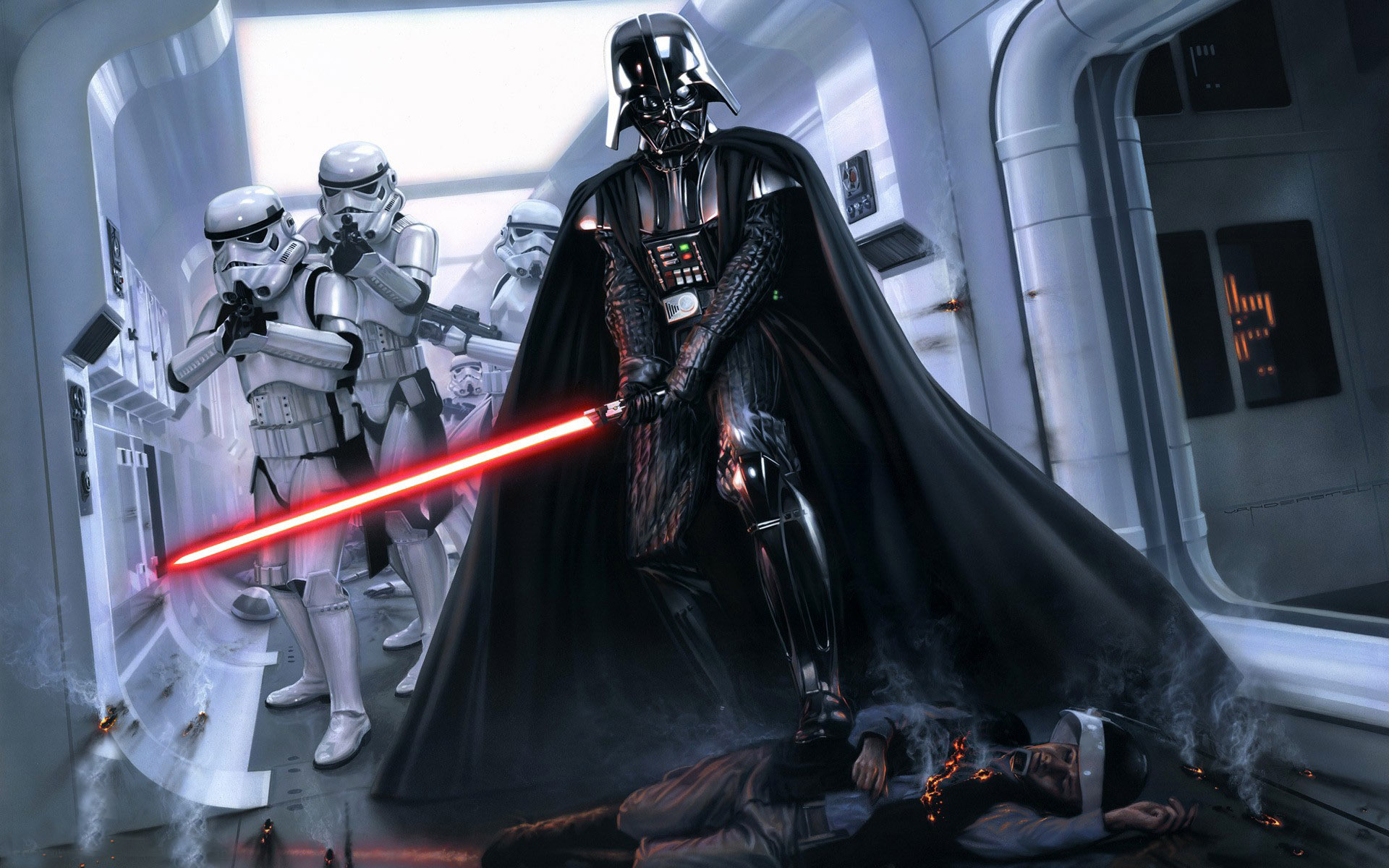 Free Download Darth Vader Wallpapers 1920x1200 For Your Desktop
