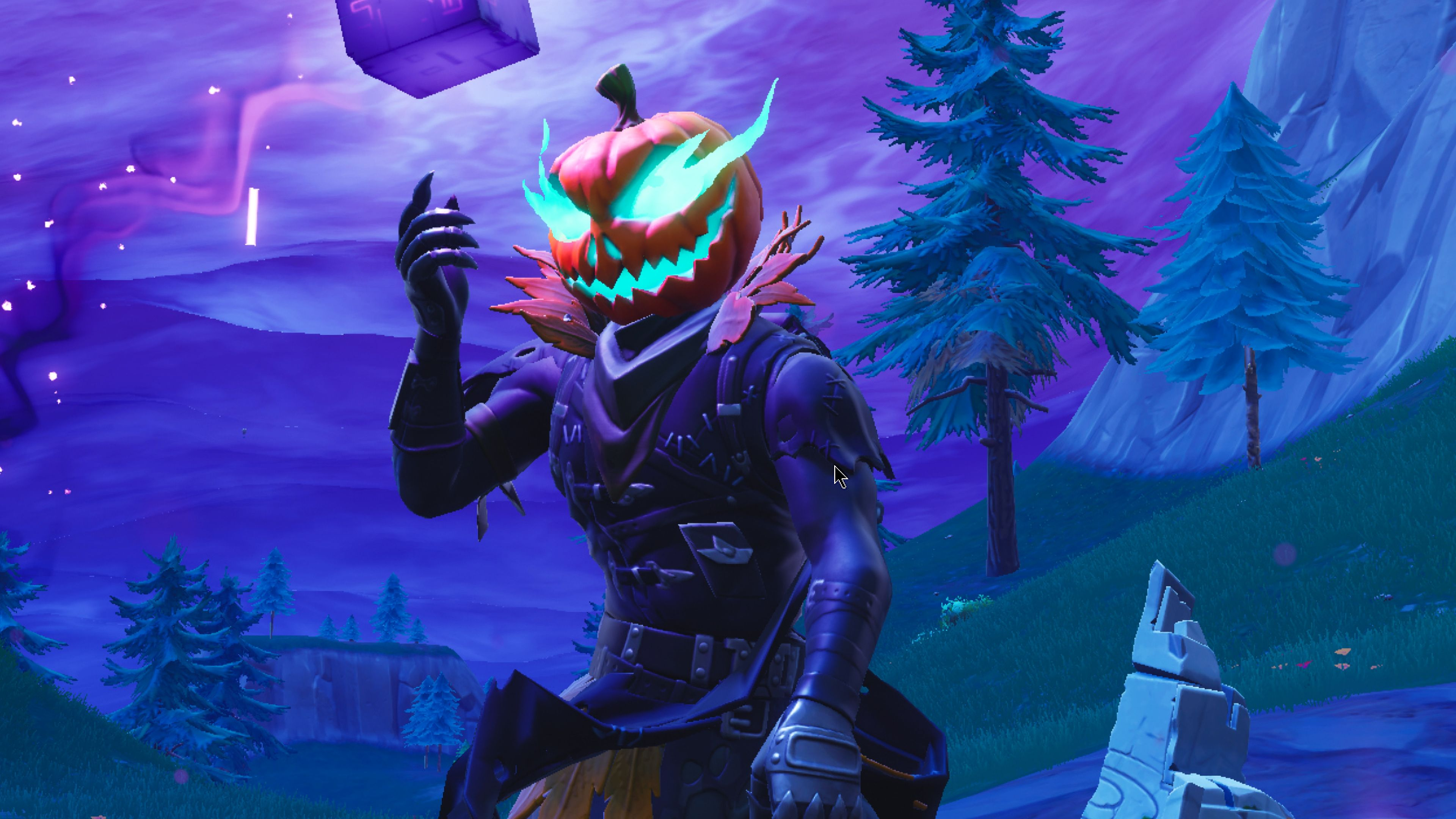 44 Fortnite Halloween 4k Wallpapers On Wallpapersafari