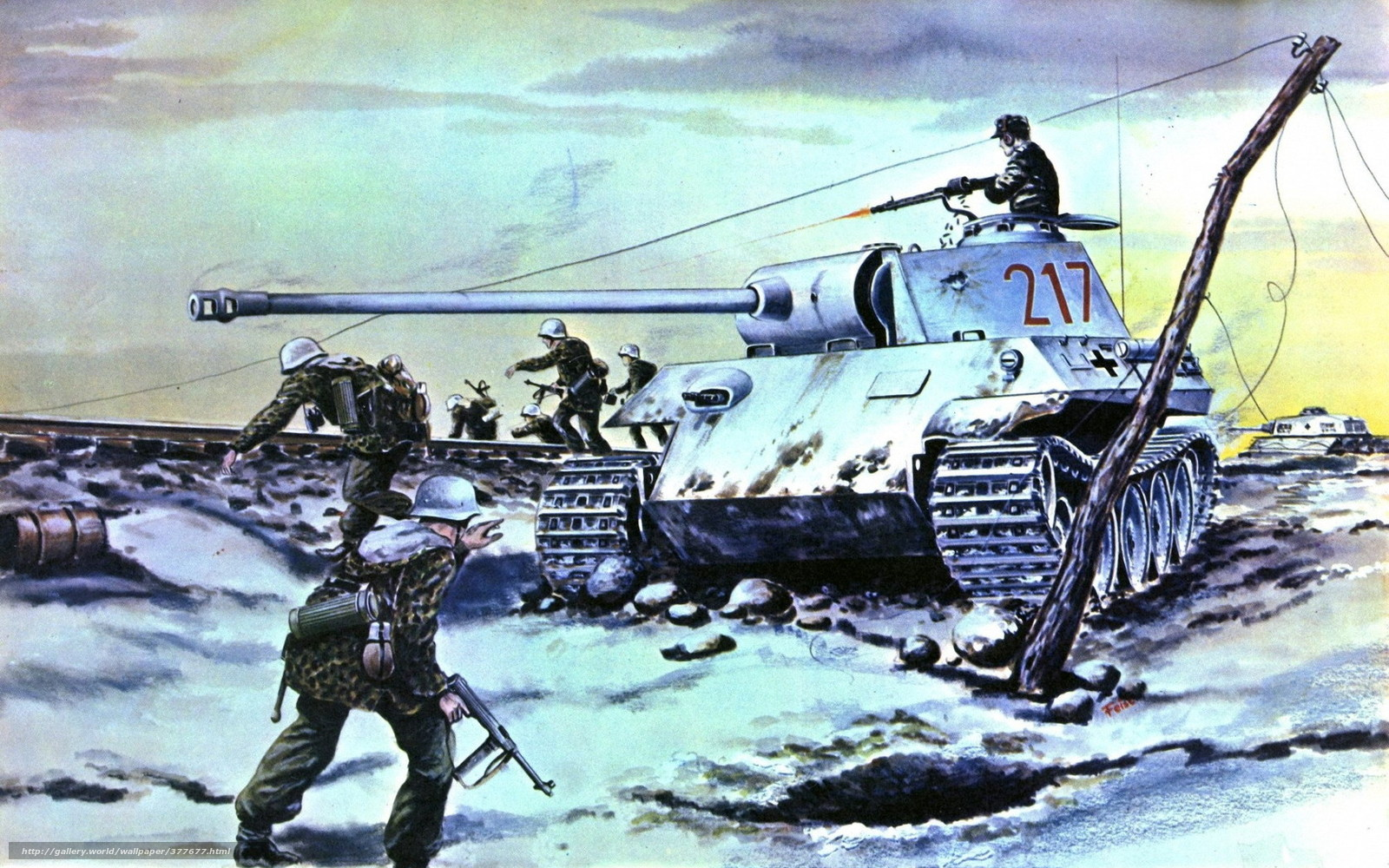 panther tank wallpaper hd - photo #11