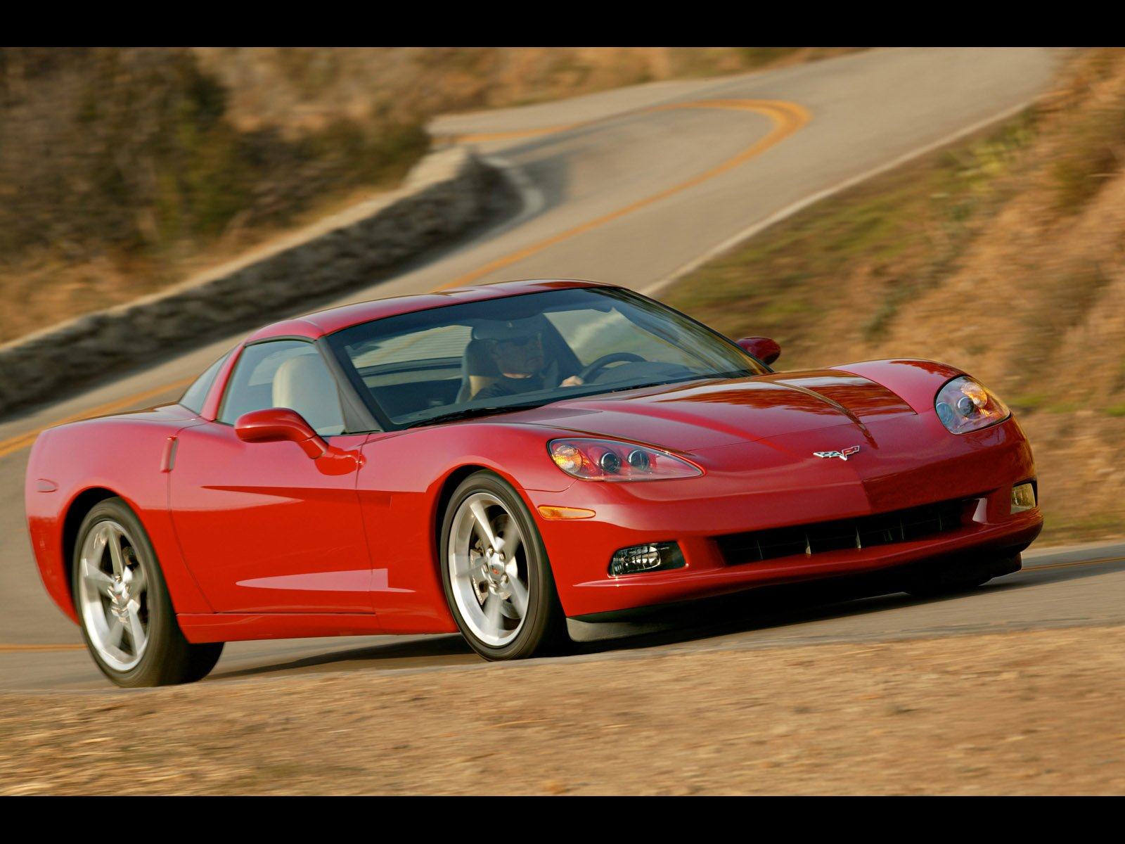 C6 Corvette Logo Wallpaper Wallpapers 1600x1200