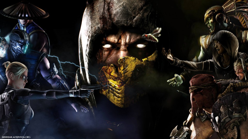 MKX] New Mortal Kombat X Wallpaper By InsideMK Inside Mortal Kombat 1024x575