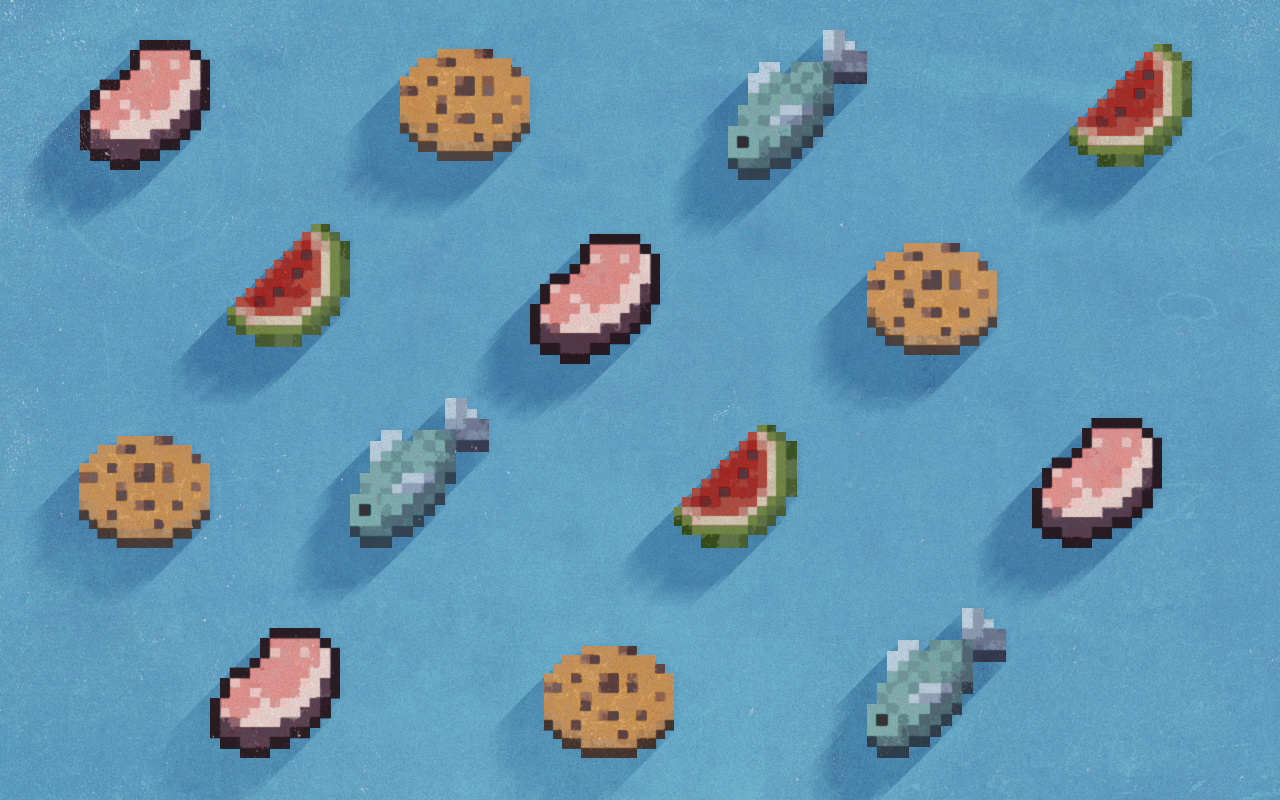 Food Tumblr Background Pattern food minecraft by 1280x800