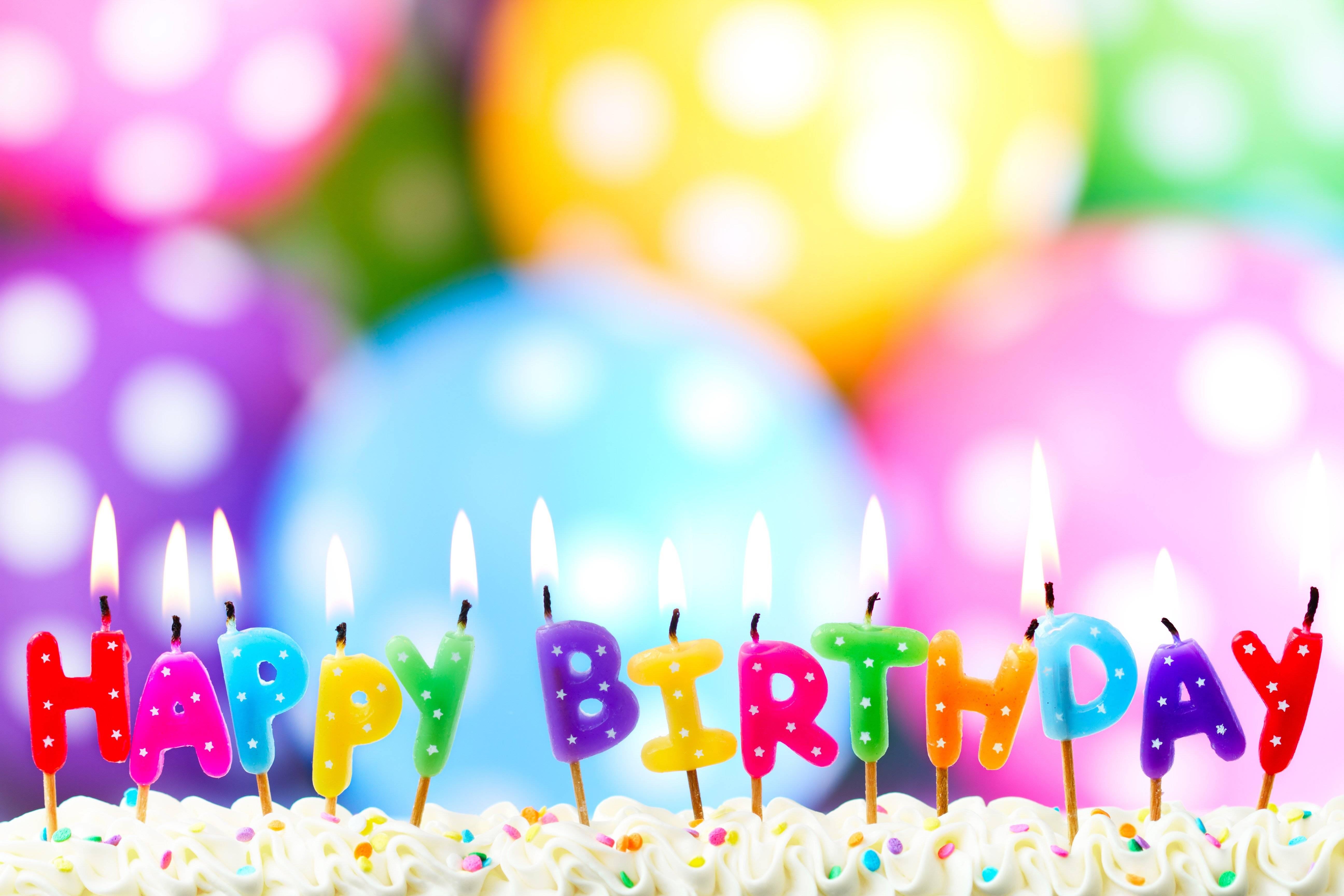 Happy Birthday Backgrounds Image 5184x3456
