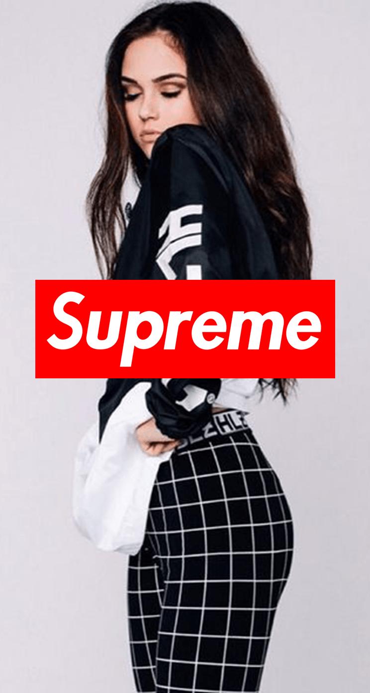 33 Supreme Girls Wallpaper Iphone On Wallpapersafari