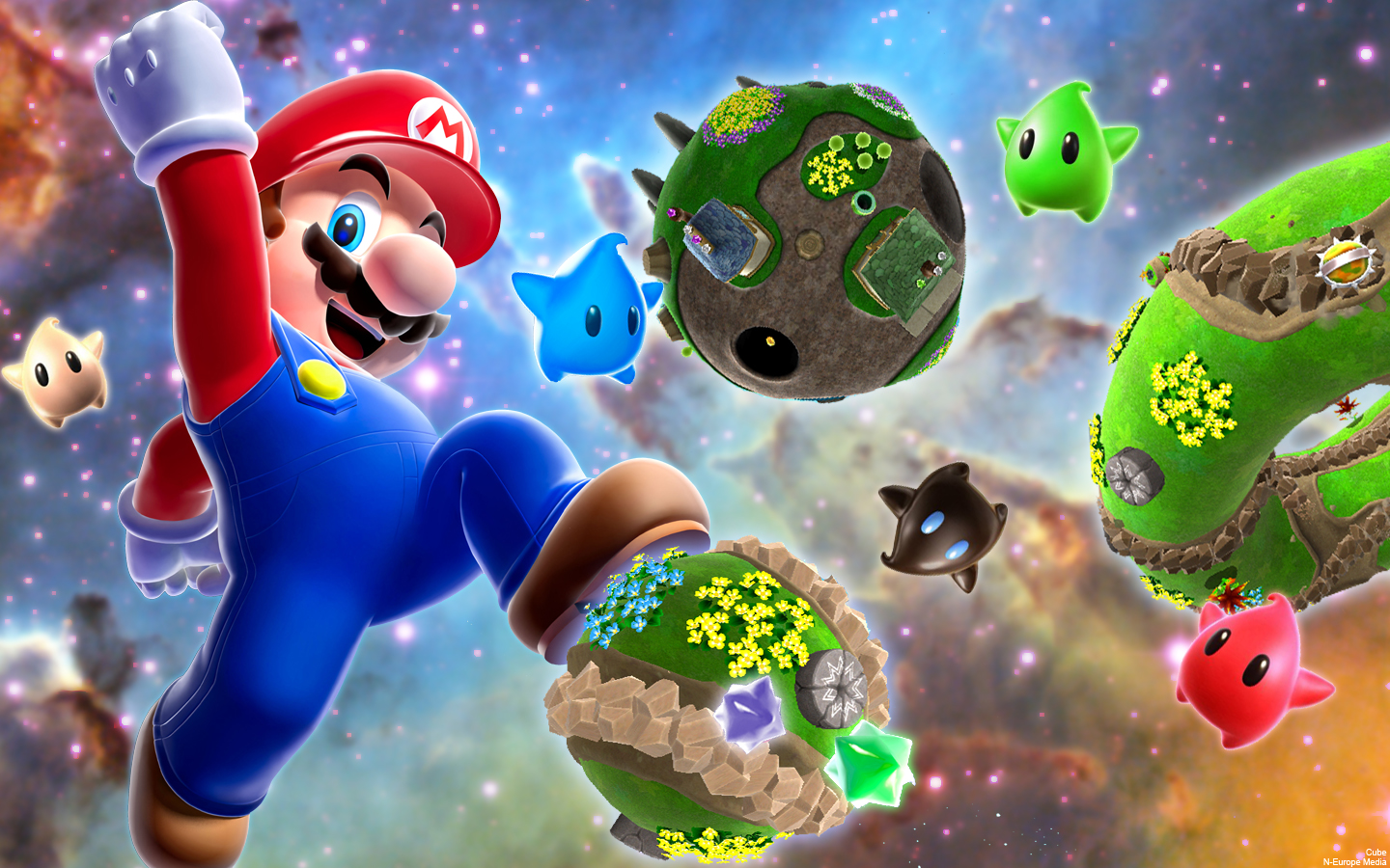 Kleurplaten Mario Galaxy 2.76 Super Mario Wallpaper On Wallpapersafari