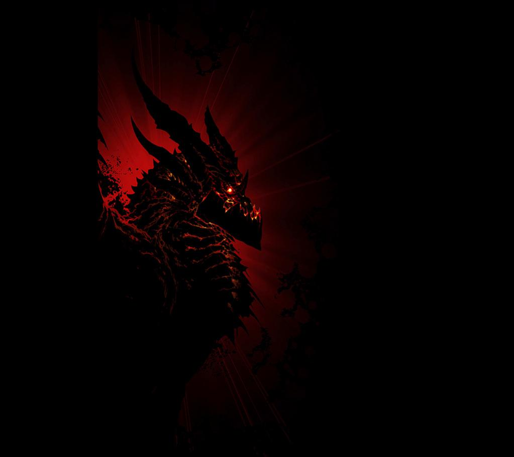 Red and Black Dragon Wallpaper - WallpaperSafari