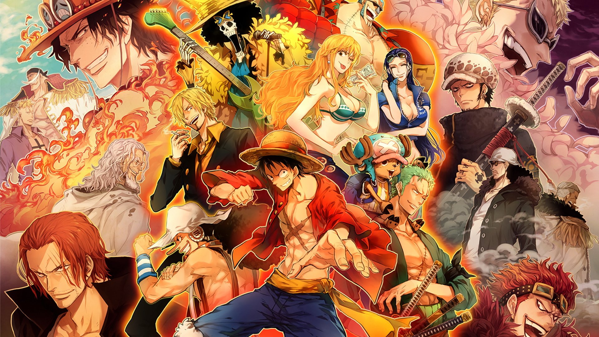 2168 One Piece HD Wallpapers Background Images 1920x1080