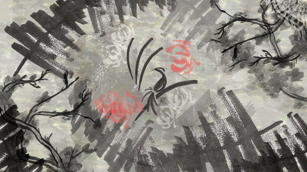 Ink Bird Theme Wallpaper by Treeprincess on deviantART 1024x576