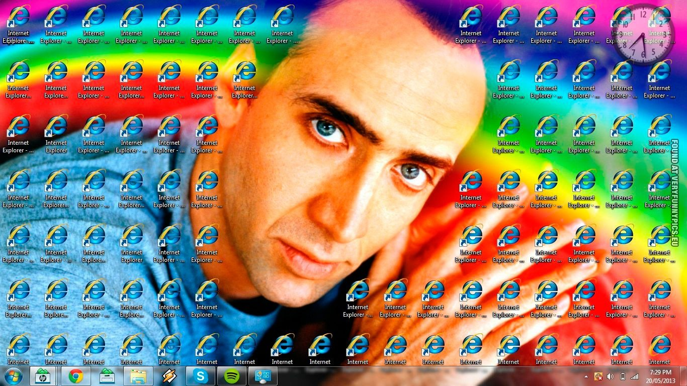internet explorer wallpaper funny