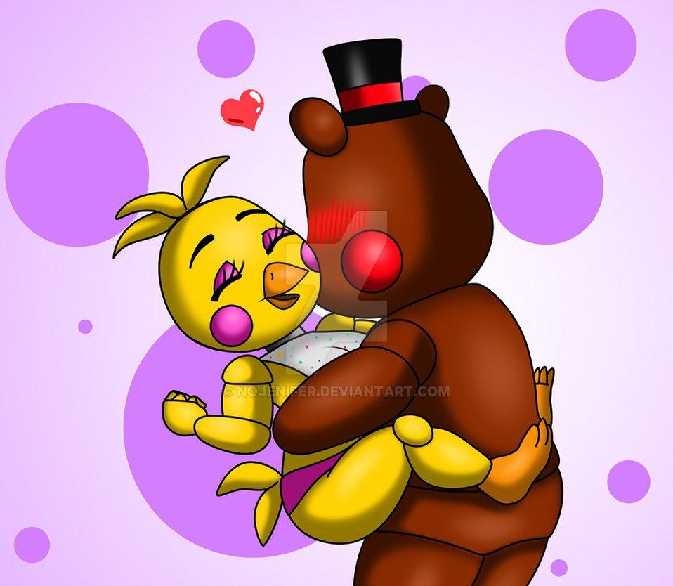 Toy Chica and Toy Freddy by nojenifer 958x834