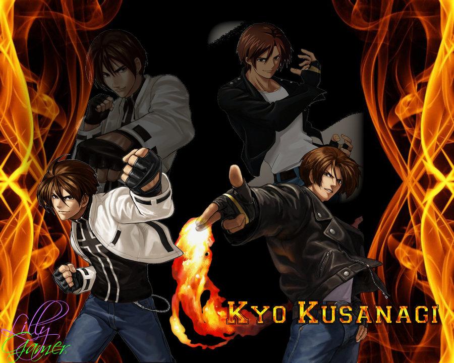 Kyo Kusanagi Wallpaper by LillyGamer 900x720