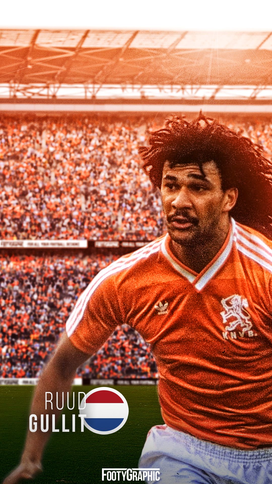 Ruud Gullit lockscreen FootyGraphic 1080x1920