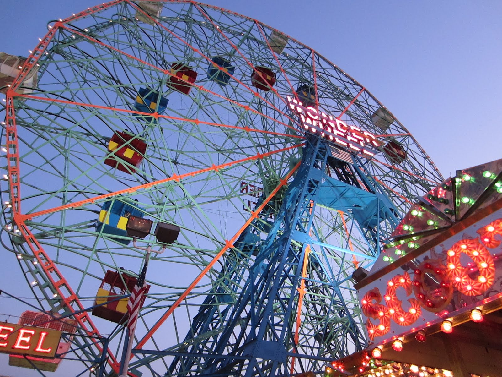 Coney Islands Wonder Wheel 1600x1200