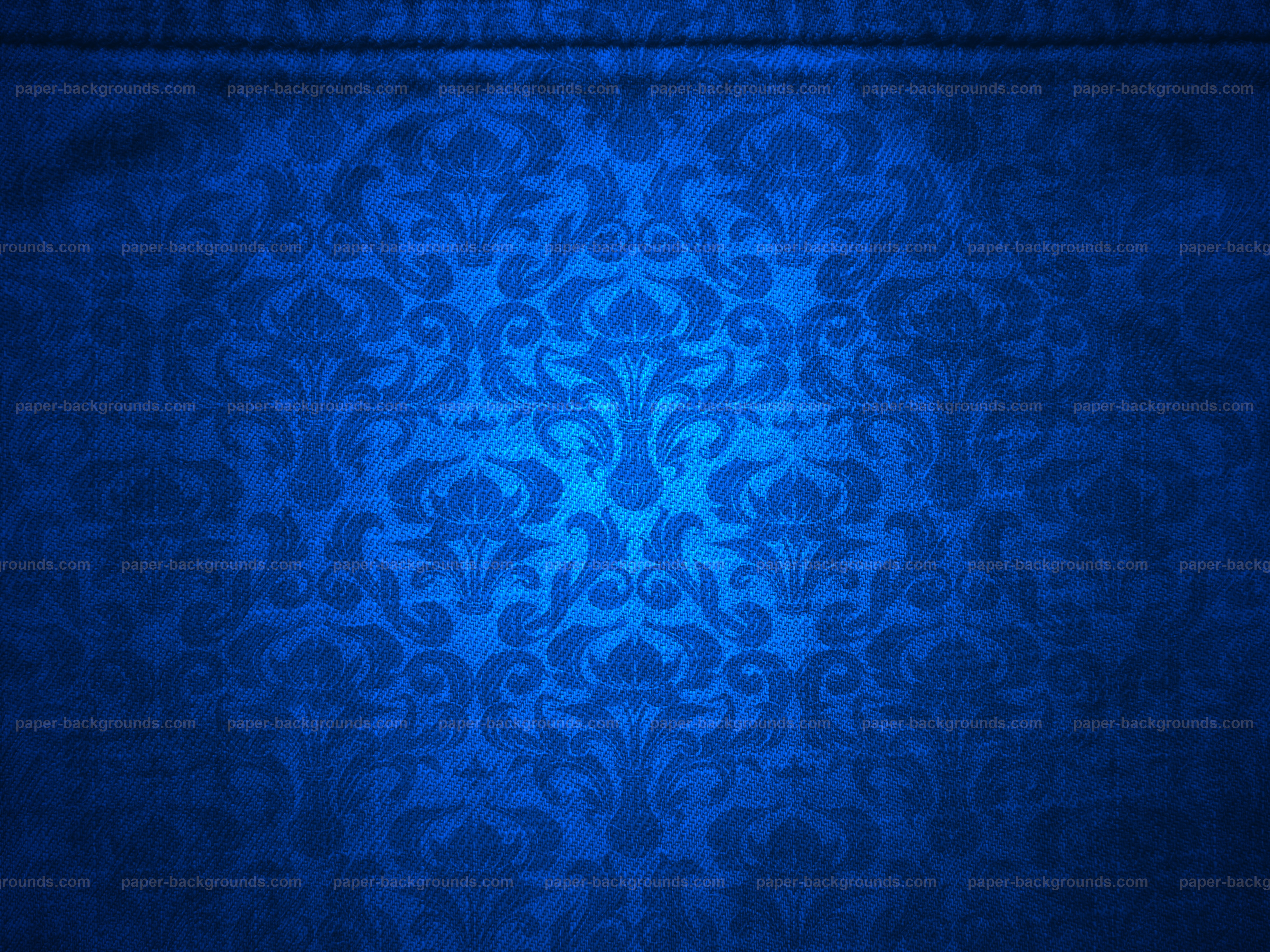 Dark Blue Damask Wallpaper: Royal Blue Background Wallpaper