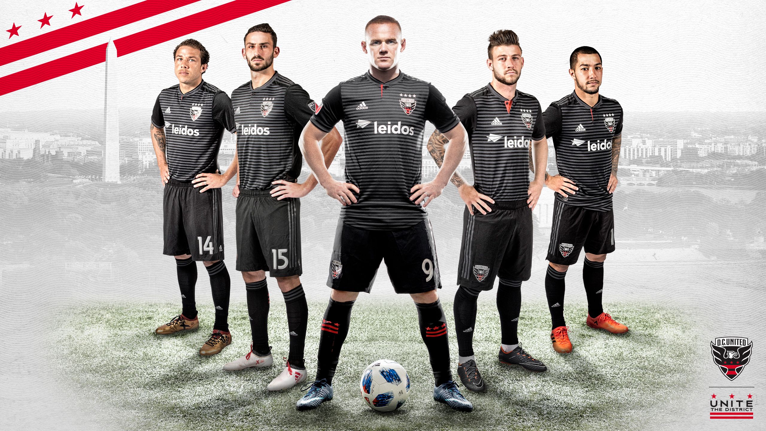 Download Rooney DC United desktop wallpapers DC United 2560x1440