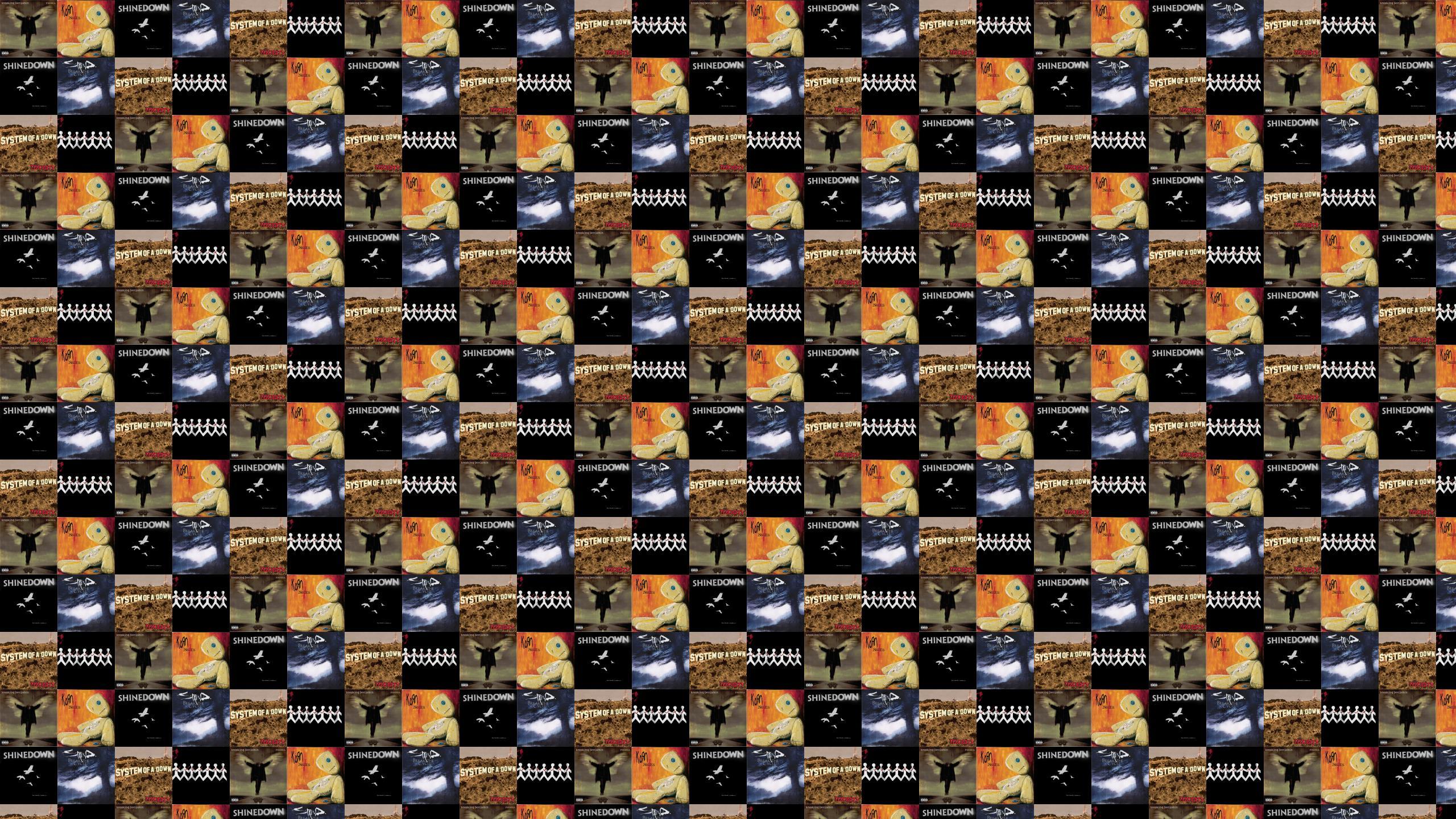 three days grace Tiled Desktop Wallpaper 2560x1440