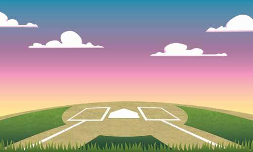 Softball Field Background Softball field backgrounds 500x300