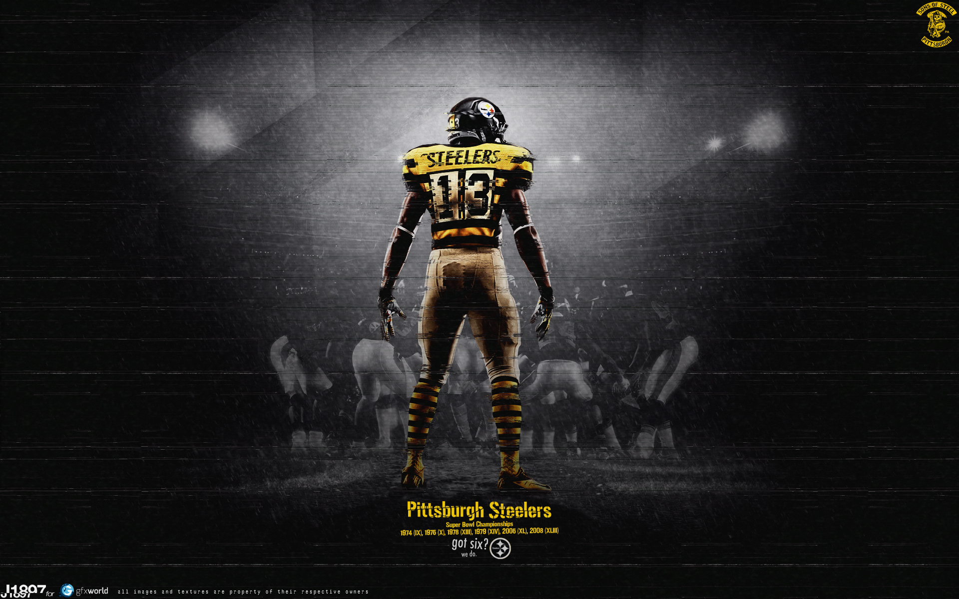 162 Pittsburgh Steelers by J1897 1920x1200