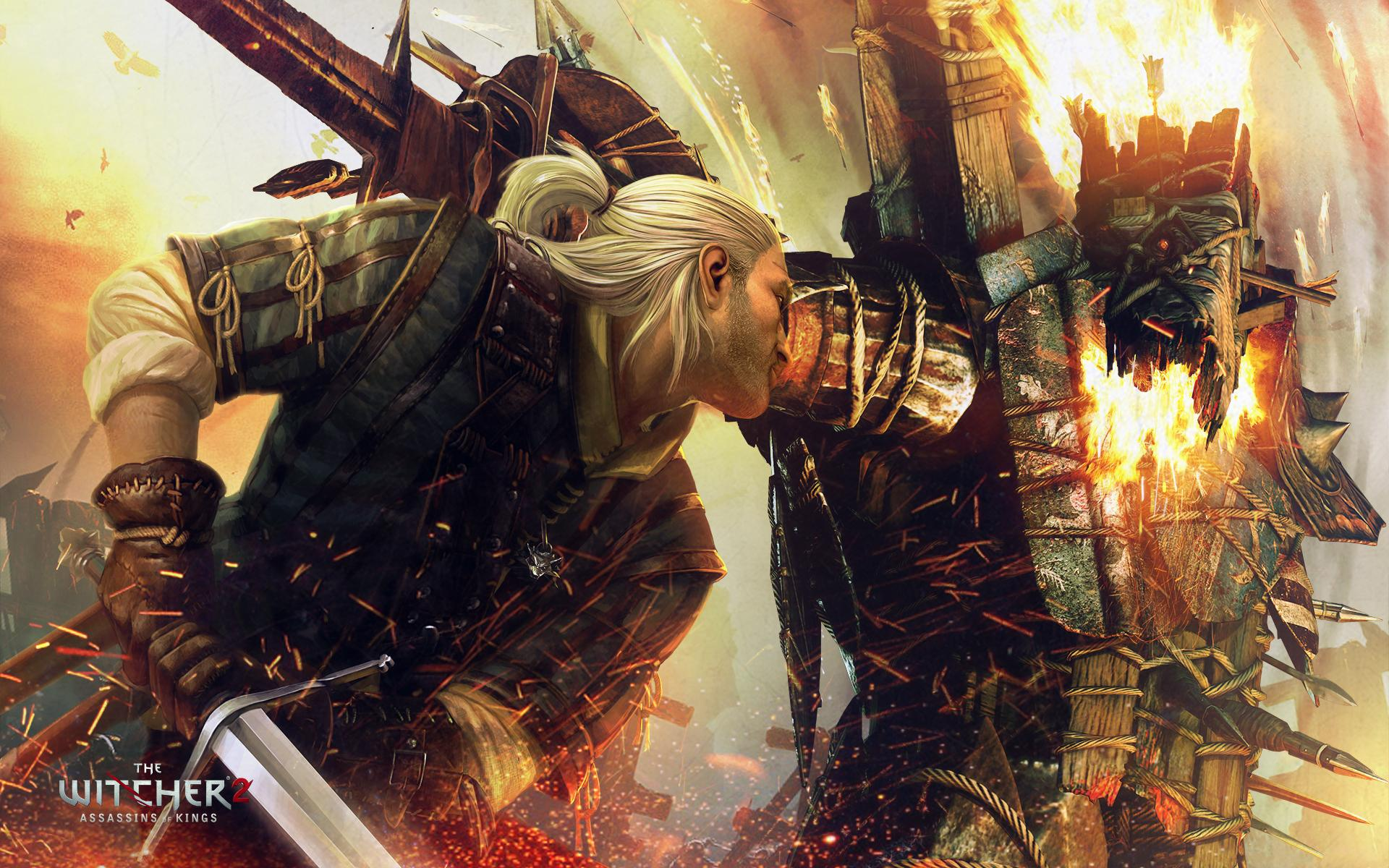 Picture The Witcher The Witcher 2 Assassins of Kings Geralt of 1920x1200