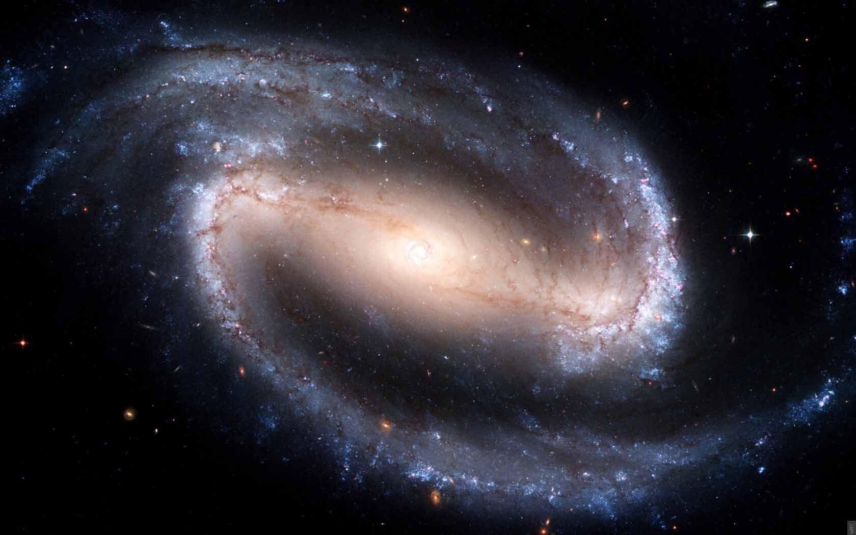 Neutrino what Neutrino means Spiral galaxy Hubble space 1680x1050