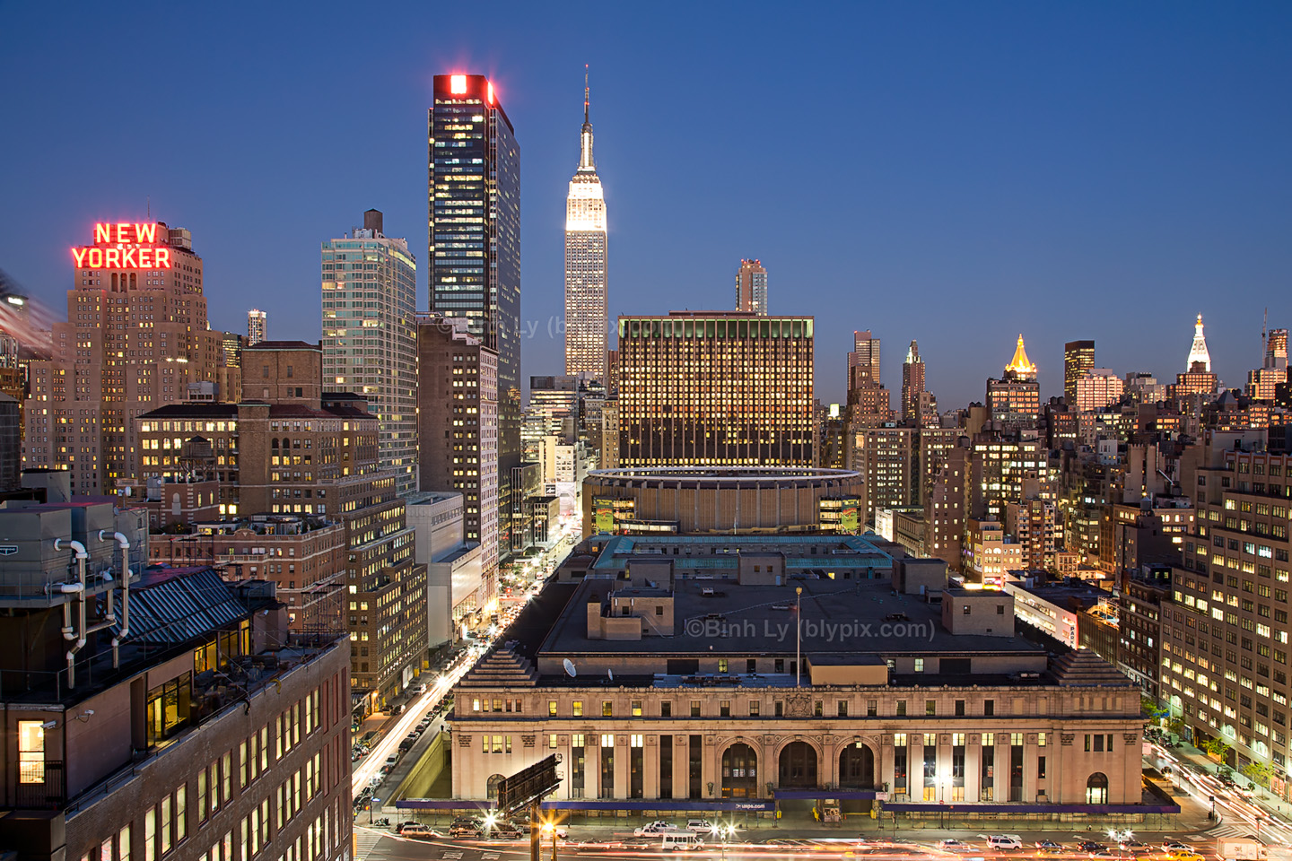 ... our free Empire State Buidling New York City Skyline Wallpapers