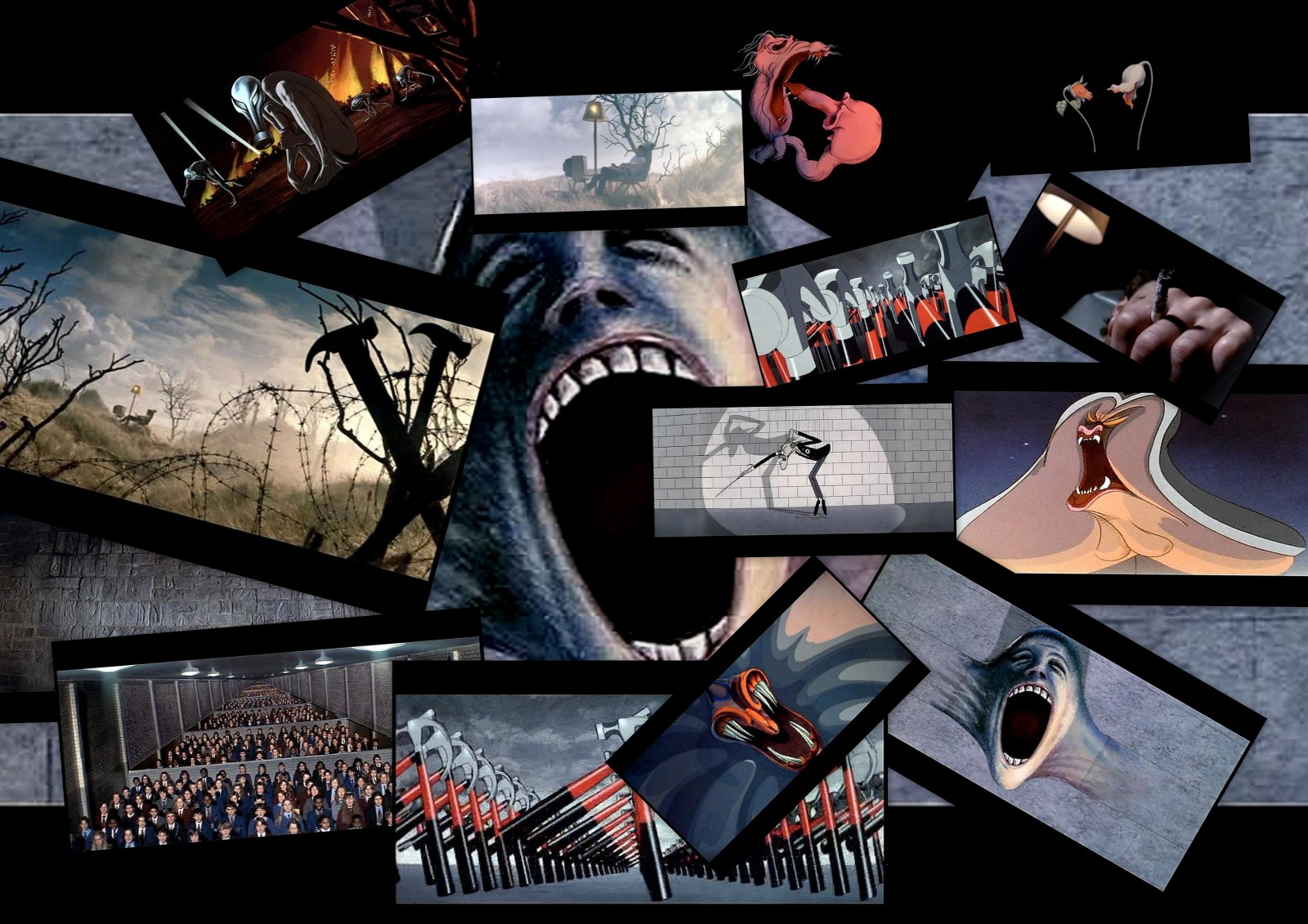 the wall fondo wallpaper pink floyd 1600x1131
