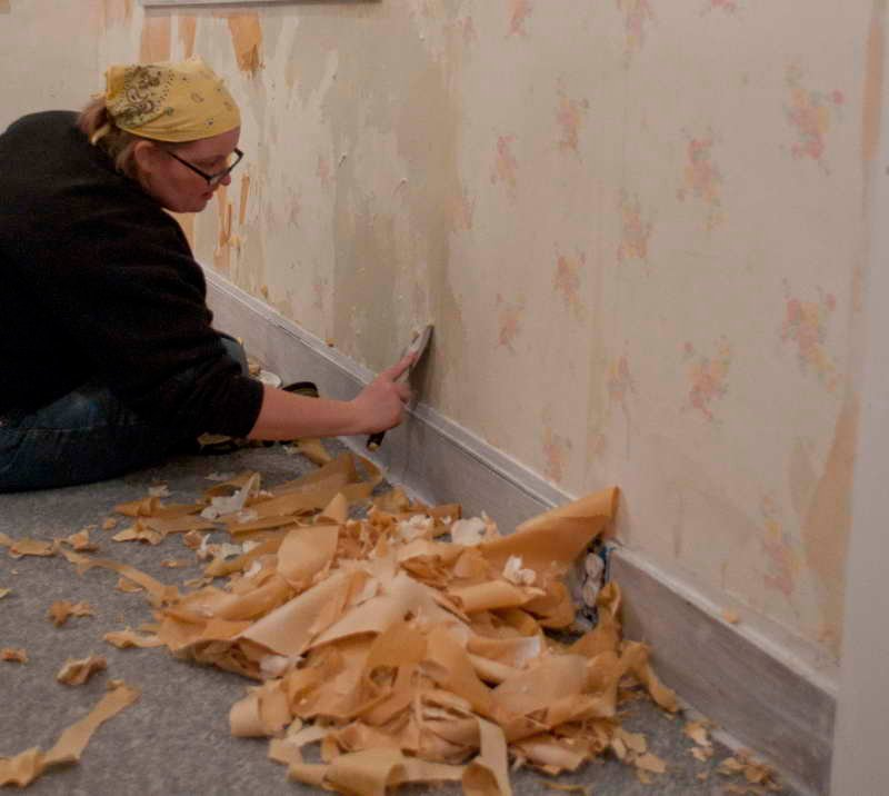to take off wallpaper from drywall with a wallpaper steamer dummies 800x716