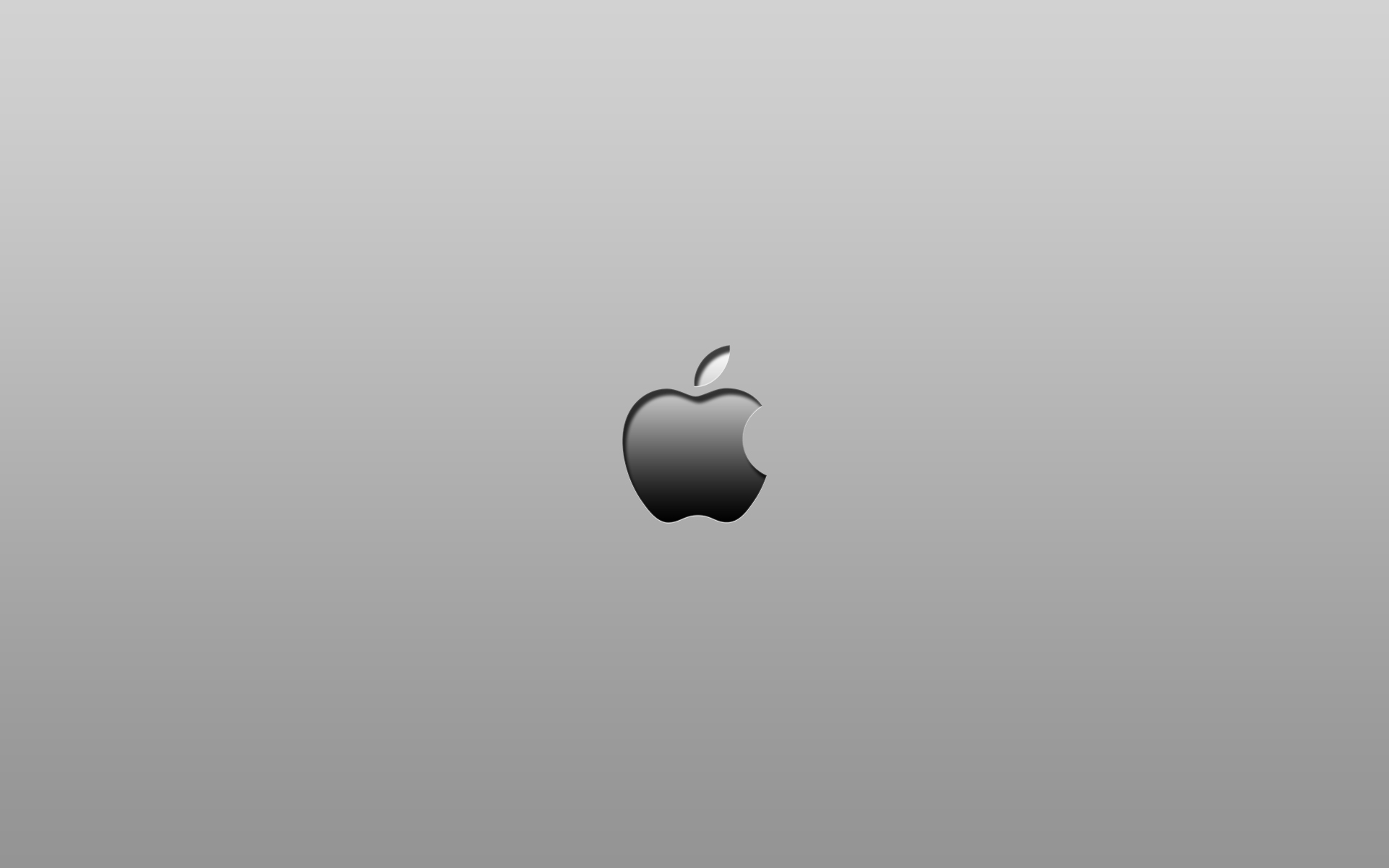 Black And White Apple Logo 1920x1200