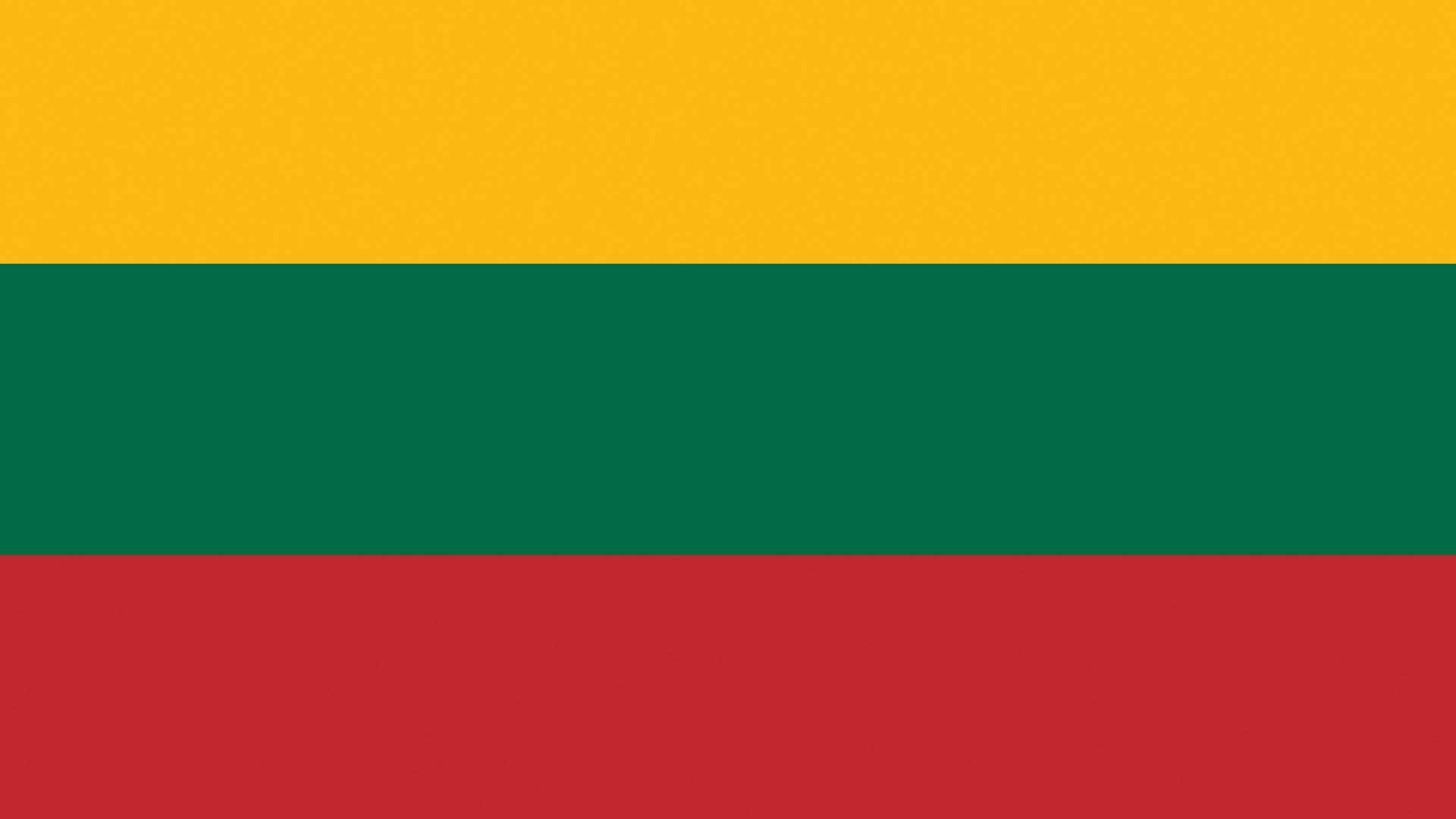 Images Lithuania Flag Stripes 1920x1080 1920x1080