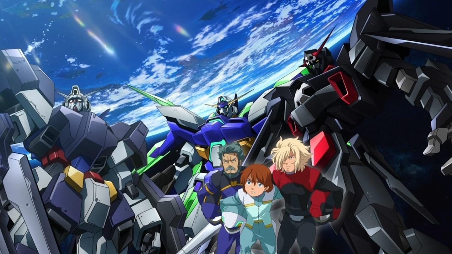 Mobile Suit Gundam AGE anime Series a New Wallpaper Size Image 1440x810