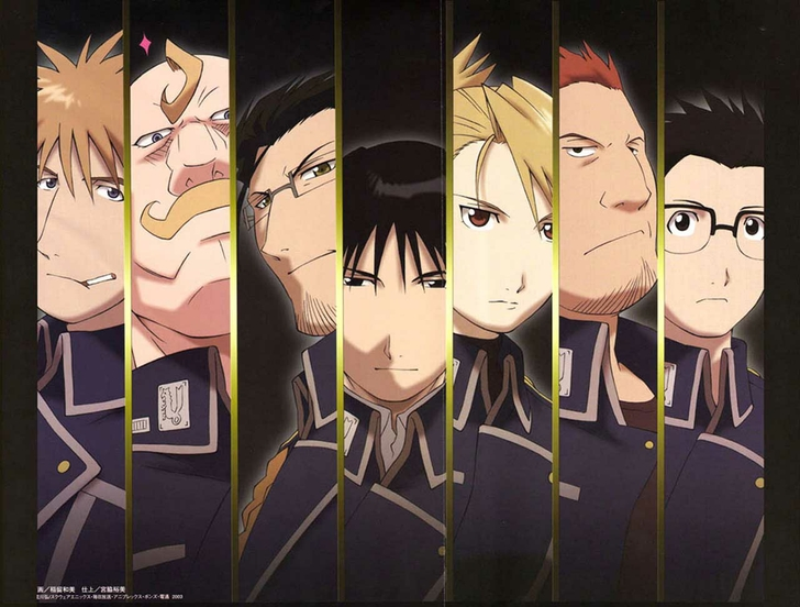 Animation Hd Wallpapers Subcategory Fullmetal Alchemist Hd Wallpapers 728x552