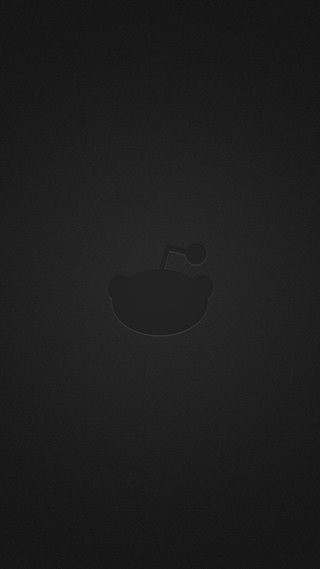 Simple Reddit Alien iPhone 5 Wallpaper 640x1136 640x1136
