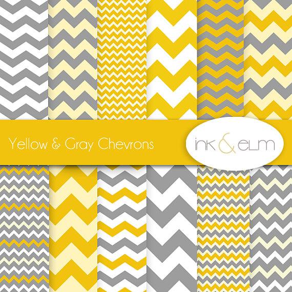 yellow gray chevrons zig zag paper zig zag chevron backgrounds 570x570