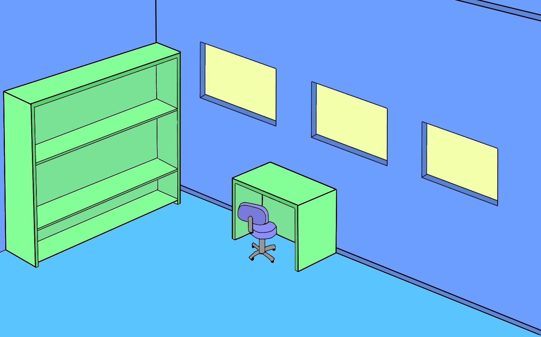 Windows 3d Office Empty Desktop Wallpaper Wallpaperpixel 1440x900