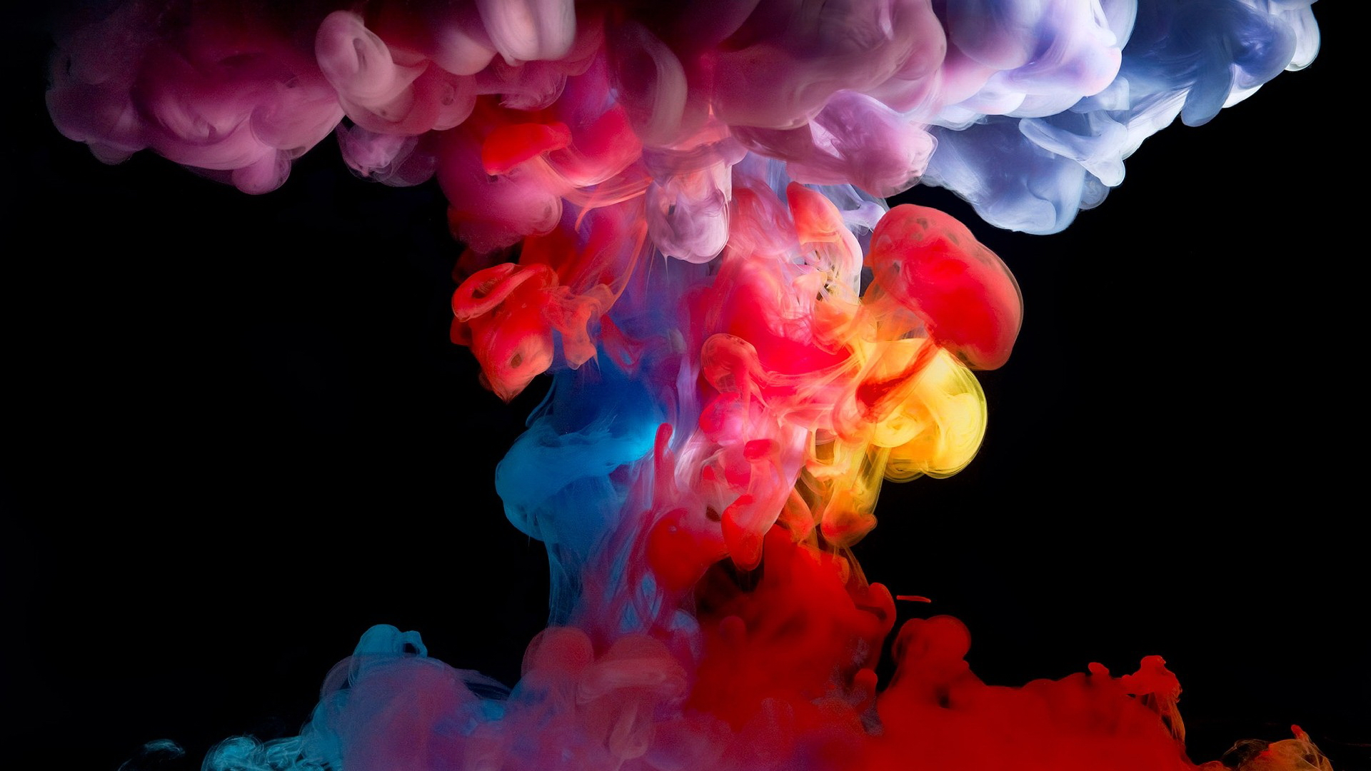 Download Colorful Smoke Wallpaper Wallpapers 1920x1080