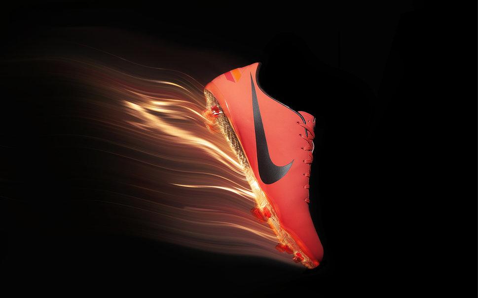 Shoes nike flame orange spikes wallpaper   ForWallpapercom 969x606