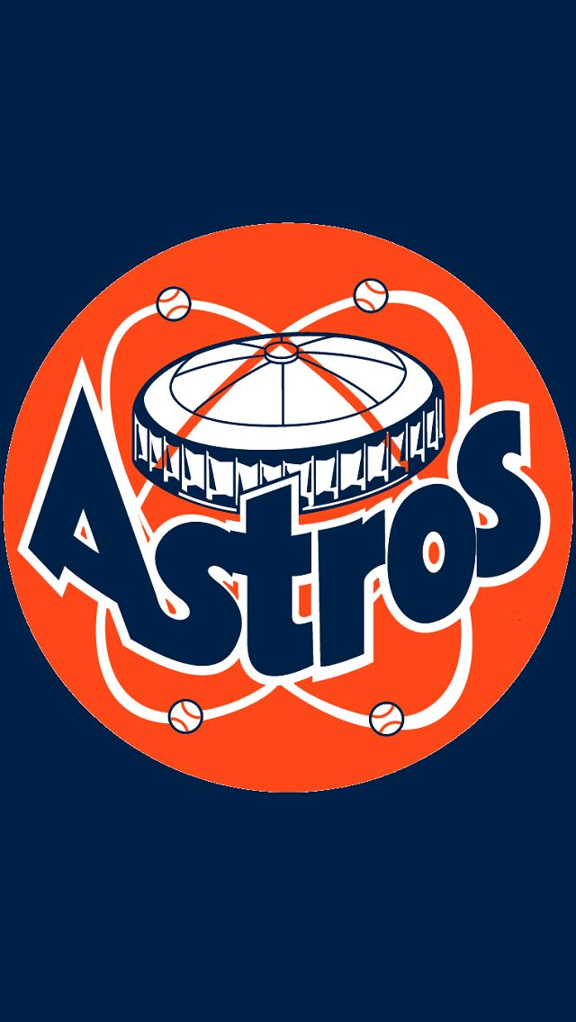 Houston Astros   Major League Baseball Texas Sports logo 640x1136