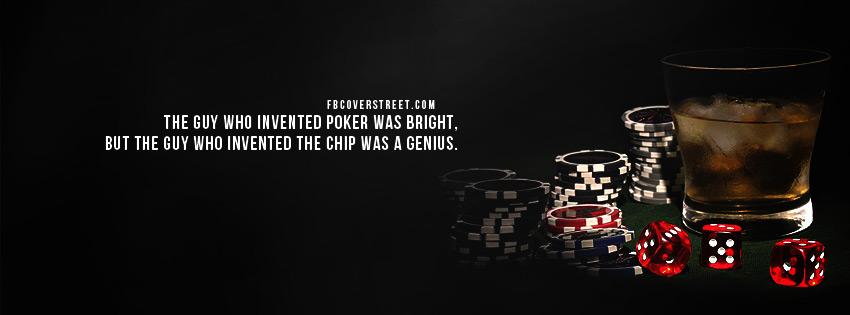 Poker Chips Are Genius Wallpaper 850x315