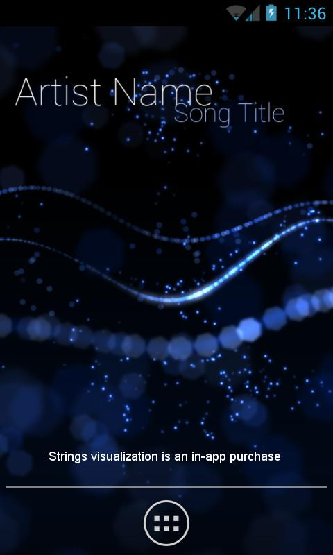 Audio Glow Live Wallpaper   screenshot 480x800