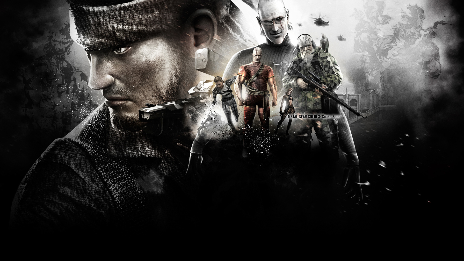 Free Download Metal Gear Wallpaper 1920x1080 Metal Gear Solid Big